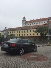 Private transfer from Prague to Bratislava