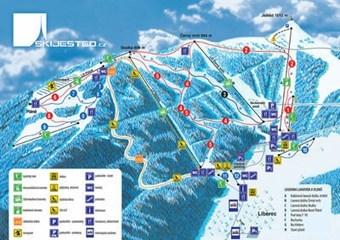 Skiing in Liberec