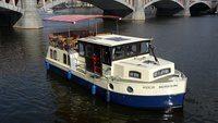 Bachsaibling boat