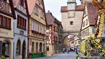 Transfer from Prague to Nuremberg